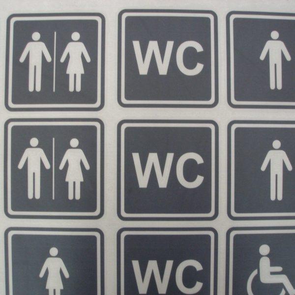 oznakowanie toalet legionowo