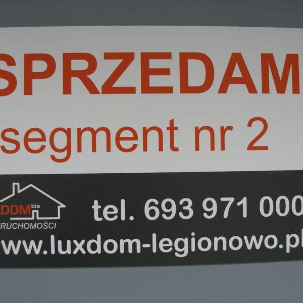 tabliczka informacyjna legionowo